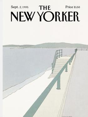 The New Yorker Cover - September 2, 1985 by Gretchen Dow Simpson