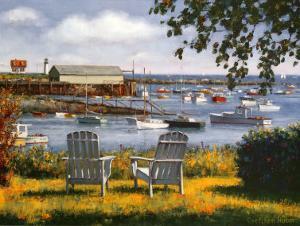 Summer Afternoon by Gretchen Huber Warren