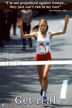 Grete Waitz: Get Real