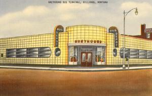 Greyhound Bus Station, Billings, Montana