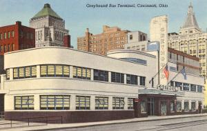 Greyhound Bus Station, Cincinnati, Ohio