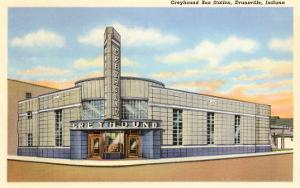 Greyhound Bus Station, Evansville, Indiana