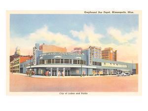 Greyhound Bus Station, Minneapolis, Minnesota