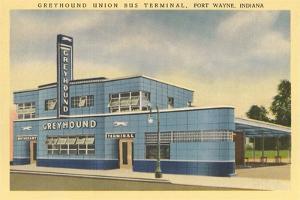 Greyhound Bus Terminal, Ft. Wayne