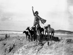 Greyhound Lady