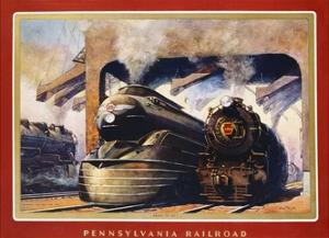 Pennsylvania Railroad, Ready to Go! by Grif Teller