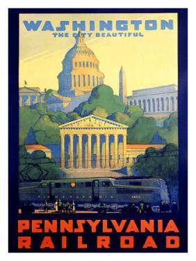 Pennsylvania Railroad, Washington D.C. by Grif Teller