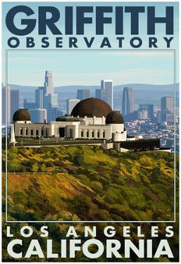 Griffith Observatory Day Scene - Los Angeles, California