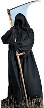 Grim Reaper Lifesize Cardboard Cutout