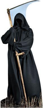 Grim Reaper Lifesize Standup