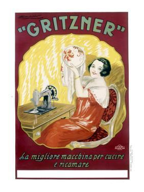 Gritzner Sewing Machine