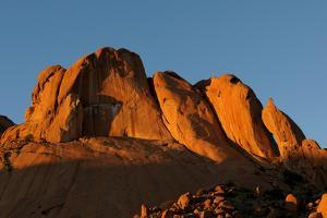 A Panorama of Spitzkoppe in Namibia by Grobler du Preez