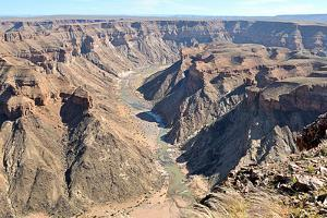 Fish River Canyon in Namibia by Grobler du Preez