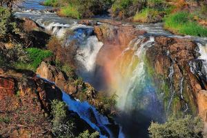 Sunset at the Epupa Waterfall, Namibia by Grobler du Preez