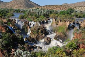 The Epupa Waterfall, Namibia by Grobler du Preez