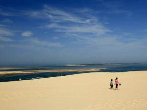 Dune Du Pyla, the Largest Dune in Europe, Bay of Arcachon, Gironde, Aquitaine, France by Groenendijk Peter