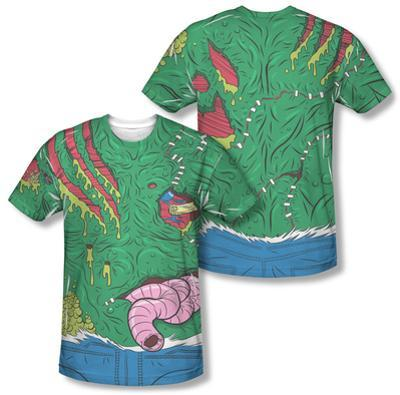 Gross Zombie Costume Tee (Front/Back Print)