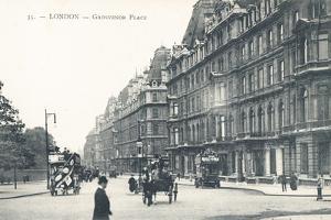 Grosvenor Place in London