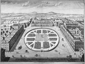 Grosvenor Square, Westminster, London, 1754