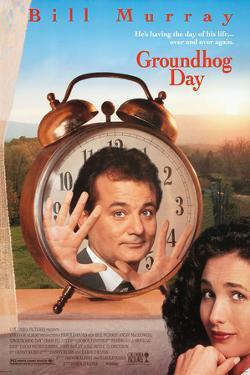 GROUNDHOG DAY [1993], directed by HAROLD RAMIS.
