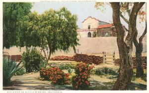 Grounds of Old Mission, San Diego, California