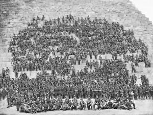 Group Portrait of All the Original Officers and Men of the 11th Battalion
