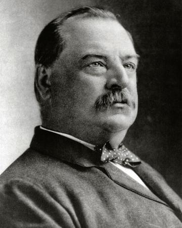 Grover Cleveland, 22nd & 24th President of the United States