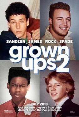 Grown Ups 2 (Adam Sandler, Kevin James, Chris Rock) Movie Poster