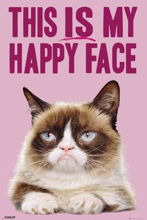 Grumpy Cat- Happy Face