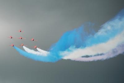 Red Arrows by Grzegorz Buczylowski