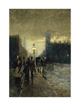 Rainy Streets, New York by Guaccimanni Alessandro