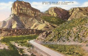 Guadalupe Peak, Carlsbad Caverns, New Mexico
