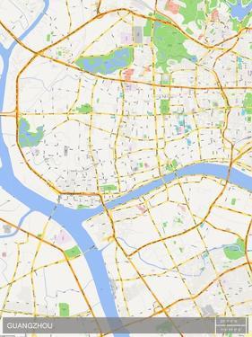 Guangzhou, China Map