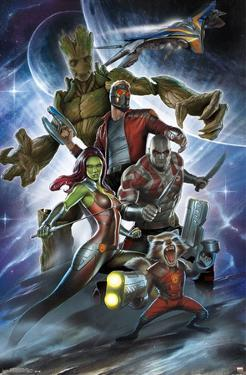 Guardians Of The Galaxy- Attack