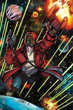 Guardians of the Galaxy Cover Art Featuring: Star-Lord