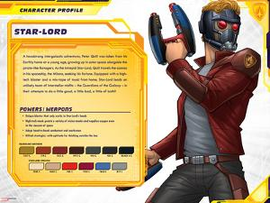 Guardians of The Galaxy Profile Featuring Star-Lord
