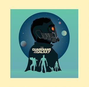 Guardians Of The Galaxy - Silhouettes