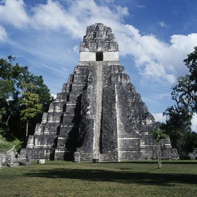 Guatemala, El Petén, Maya Civilization, Tikal National Park, Temple I