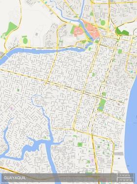 Guayaquil, Ecuador Map