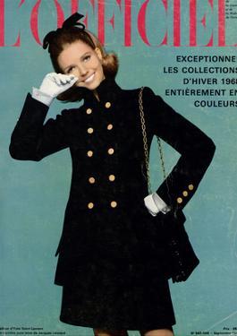 L'Officiel, September 1967 - Tailleur d'Yves-Saint Laurent by Guégan