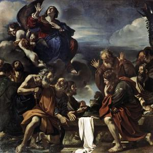 The Assumption of the Blessed Virgin Mary, 1623 by Guercino