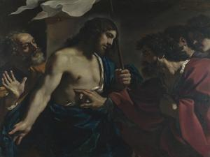 The Incredulity of Saint Thomas, 1621 by Guercino