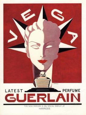 Guerlain, Guerlain Vega Art Deco Womens, UK, 1940