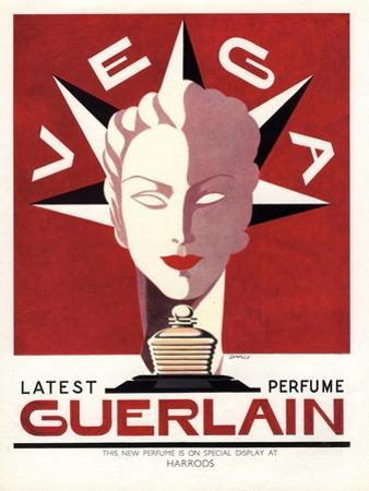Guerlain, Guerlain Vega Art Deco Womens, UK, 1940