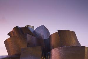 Guggenheim Museum designed by Frank Gehry, Bilbao, Biscay Province, Basque Country Region, Spain