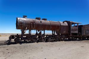Train Boneyard, Salar De Uyuni, Bolivia, South America by Guido Amrein
