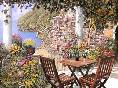 Due Bicchieri a Positano by Guido Borelli