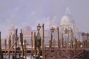 La Nebbia a Venezia by Guido Borelli