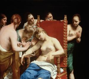 The Death of Cleopatra by Guido Cagnacci