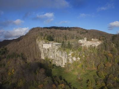 Air View of La Verna Hermitage